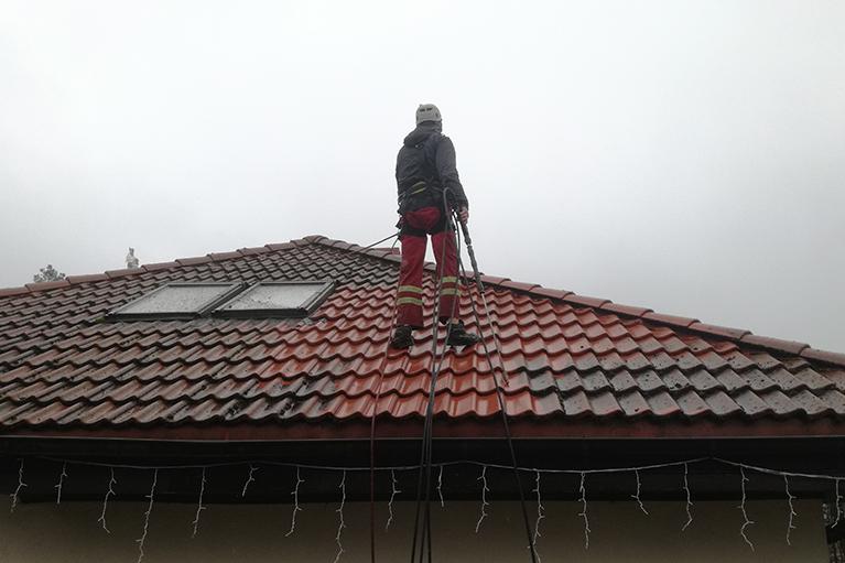 Chwaszczyno czyszczenie dachów (2)