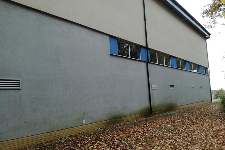 Czyszczenie elewacji dla SNG Gdańsk przed