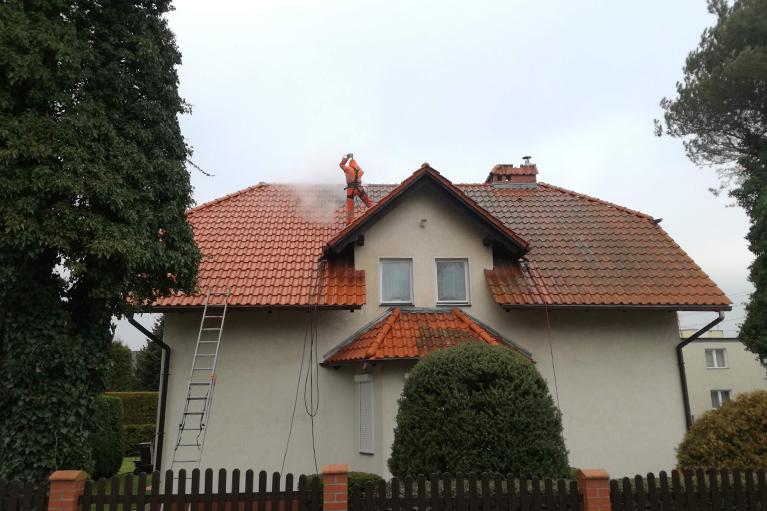 Gdynia czyszczenie dachu (2)