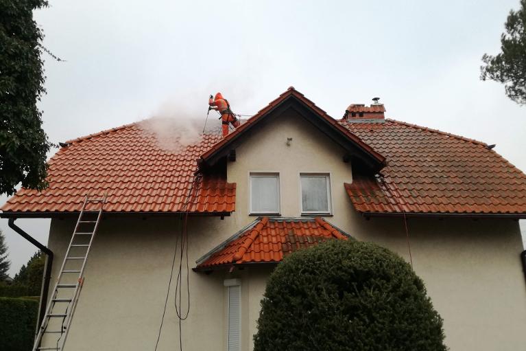 Gdynia czyszczenie dachu (3)