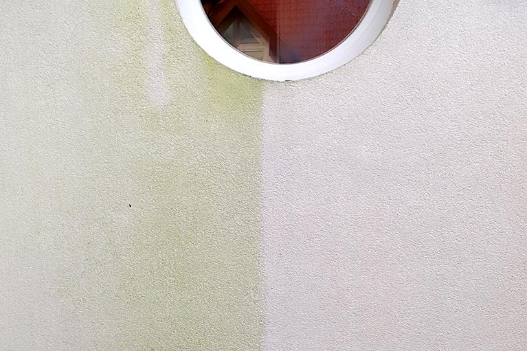 Kosakowo czyszczenie elewacji, usuwanie glonów 1